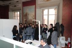 26 febbraio 2019, la 3A del Liceo delle Scienze Umane in visita a Palazzo Vacchi Suzzi