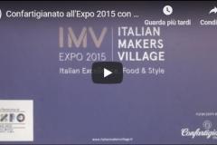 Expo 2015: Confartigianato sostiene il territorio con l'Italian Makers Village