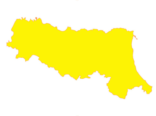 Dal 6 dicembre l'Emilia Romagna torna gialla