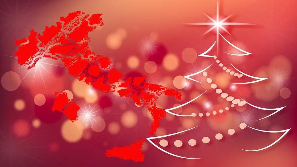 Coronavirus Natale: giorni festivi e prefestivi in rosso, gli altri arancioni