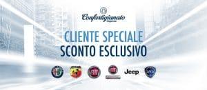 confartigianato convenzione FCA Fiat crysler alfa romeo jepp abarth lancia