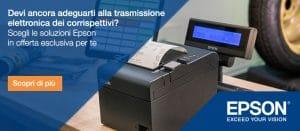 convenzione confartigianato Epson registratore di cassa