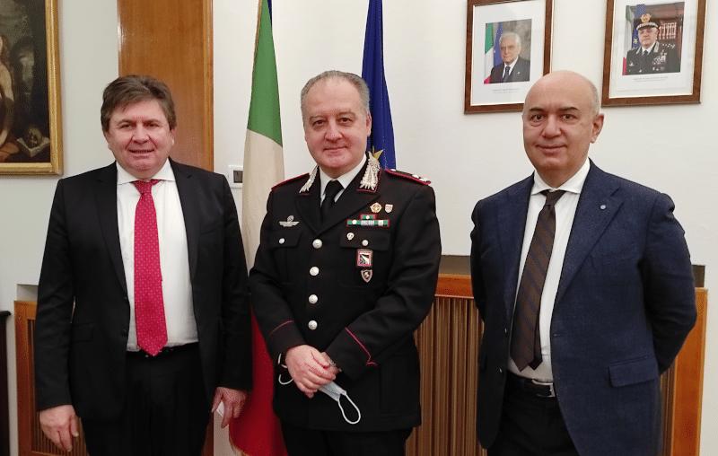 Confartigianato e Legione Carabinieri verso una collaborazione più stretta