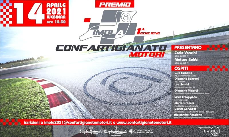 """""""Imola 2021. La Formula 1 e le eccellenze del Made in Italy"""", premio Confartigianato Motori"""