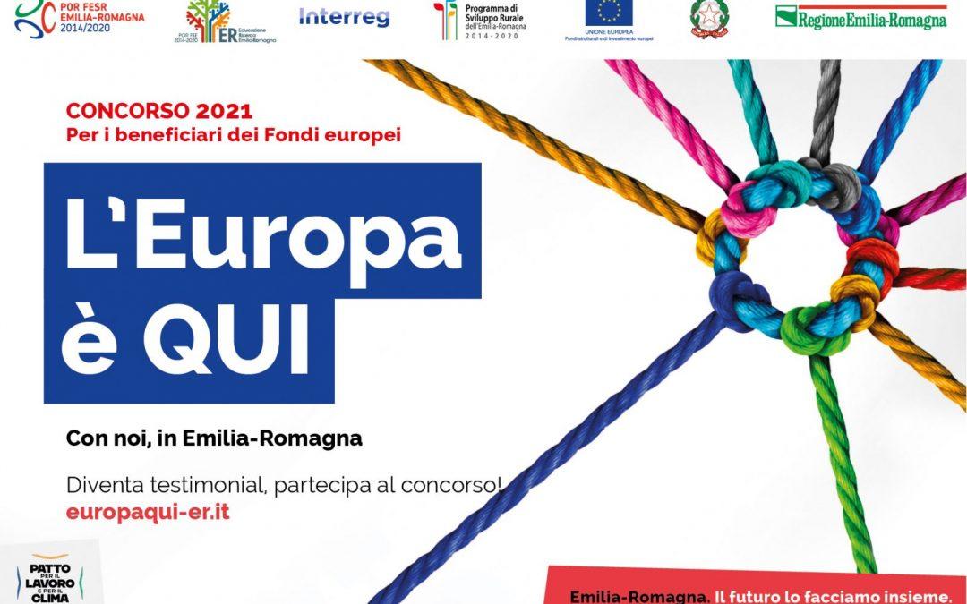 L'Europa è qui, la via la quarta edizione del premio per le imprese